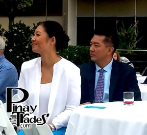 Jina Park and her very supportive Husband, David Park