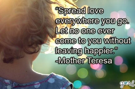 Mother Theresa Quote: Quote from powerful women