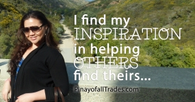 Pinayofalltrades.com quote; Quote from powerful women