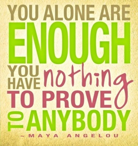 Maya Angelou Quote; Quote from powerful women