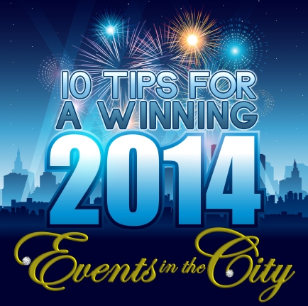 Events in the City New Year 2014 tips