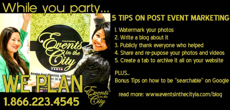 Events in the City Post Marketing Tips blog photo
